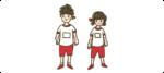 体操服の子供