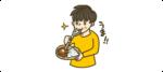 ごはんを食べる人